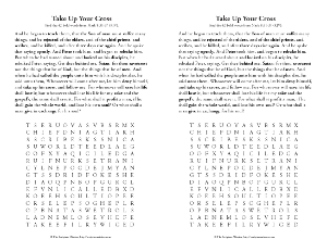 On the Road to Easter: Lent Word Search Printable - Real Life at Home
